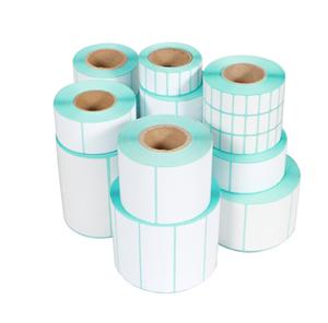 三防热敏纸不干胶标签打印机条码纸快递贴纸标贴铜版纸