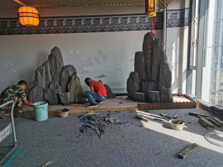 江蘇斧劈石盆景-買超值的斧劈石盆景優選國旺石材經營部