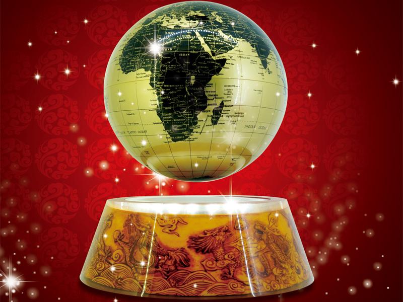 新疆磁懸浮地球儀-廣東哪里有供應口碑好的磁懸浮八寸地球儀