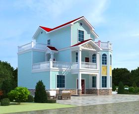 轻钢别墅优缺点|可靠的建造轻钢别墅推荐