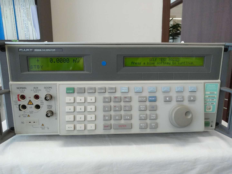 长期高价回收Fluke5500A系列多功能校准仪