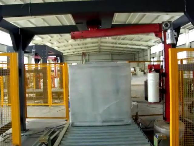 规模大的无纺布自动称重缠绕包装流水线生产chang家-广dong无纺布自动称重缠绕包装流水线