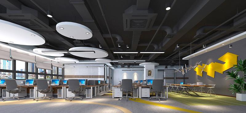 南山辦公室裝修設計案例-哪家辦公室裝修公司可靠