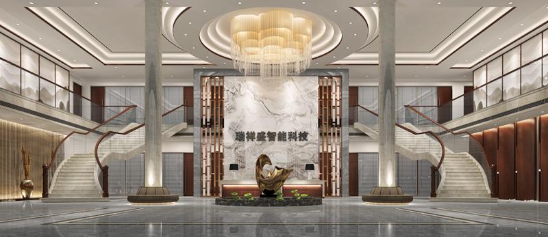 深圳办公室设计公司——瑞祥盛智能科技写字楼装修效果图