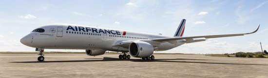 法荷航增购10架A350飞机 用于替换A380