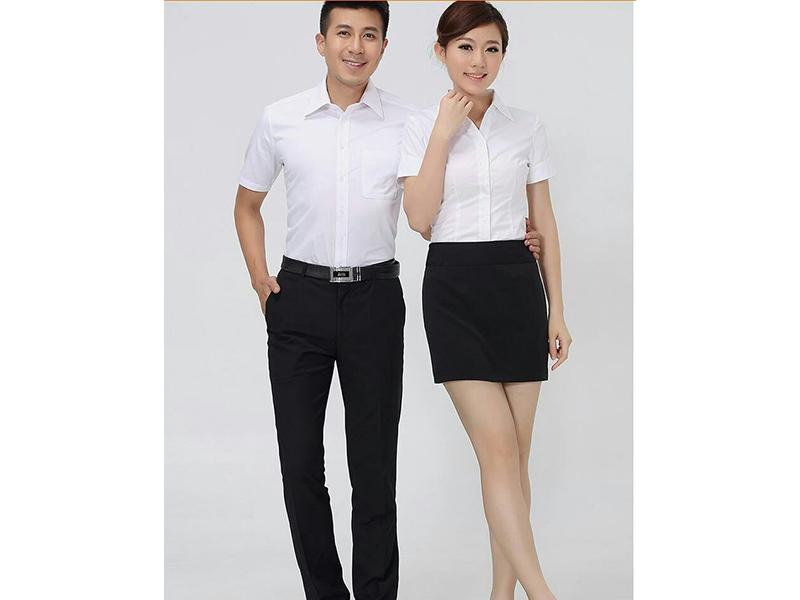 甘肃企业工服|想买优惠的工作服,就到铭尚服饰