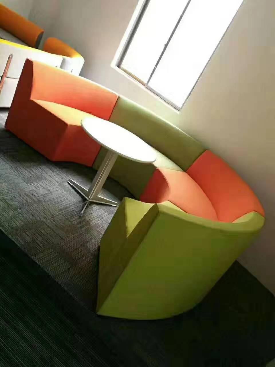 內蒙卡座沙發訂制-沙發卡座尺寸-客廳卡座沙發