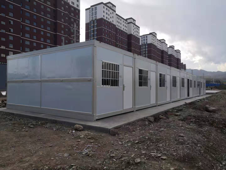 快拼式集装箱房——兰州拼装箱出租租赁安装厂家