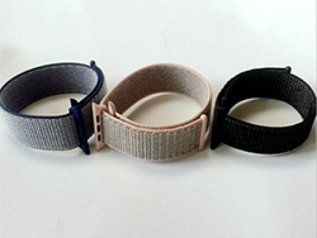 中国厂家的尼龙回环手表带-有口碑的精编松紧表带苹果手表回环式运动表带格