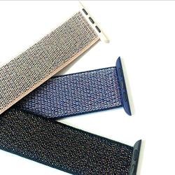 中国厂家直销的尼龙回环手表带_大量供应精致的精编松紧表带苹果手表回环式运动表带