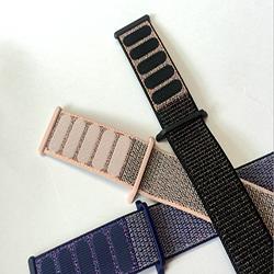 运动回环尼龙手表带|要买销量好的精编松紧表带苹果手表回环式运动表带优选德盛织带