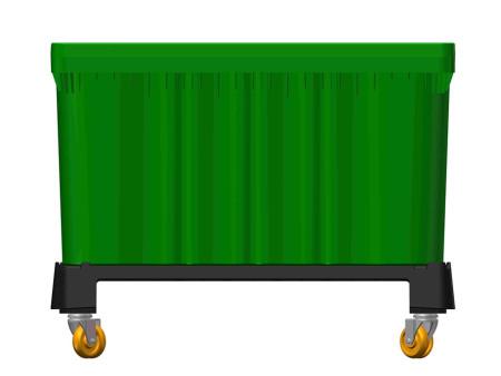 食品卡板箱-广州哪里有供应口碑好的自锁式可堆栈卡板箱