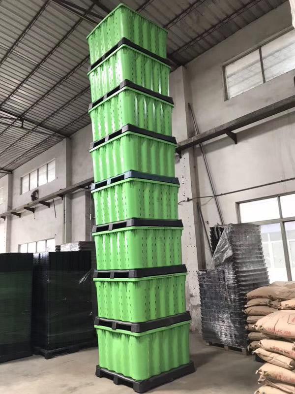 折疊箱供應商-要買實惠的自鎖式可堆棧卡板箱當選特帥五金塑膠