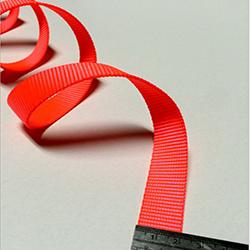 2cm熒光紅尼龍織帶批發尼龍織帶可定做廠家直銷