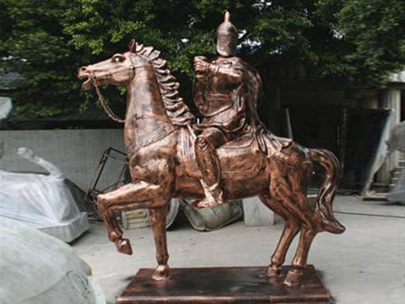 騎馬人物雕塑廠家-保定哪里可以做騎馬人物雕塑