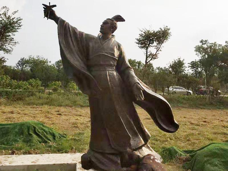 鑄銅人物雕塑