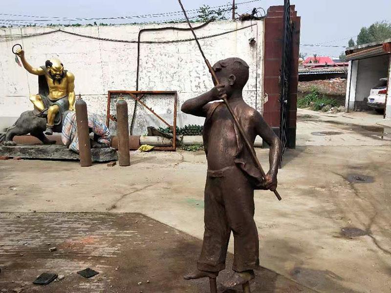 蘇州鑄銅人物雕塑廠家直銷-采購鑄銅人物雕塑認準中旭園林