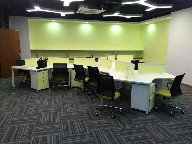 現代鋼架員工組合位辦公桌