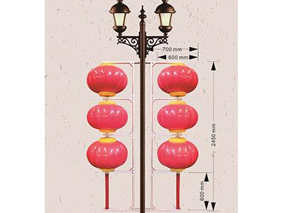 广东路灯中国结-鹤壁有信誉度的路灯灯笼厂家推荐