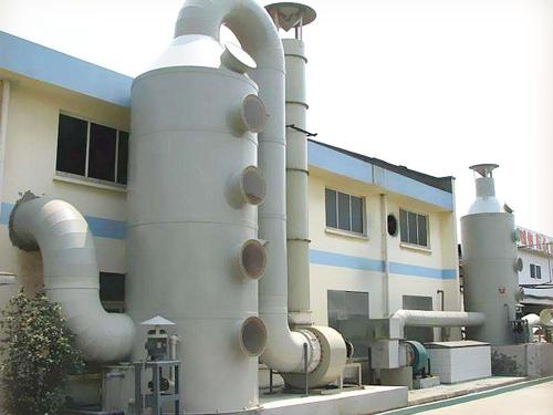 PP喷淋废气净化塔设备-PP喷淋净化设备哪家好