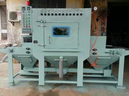 內蒙古高壓噴砂機-信譽好的自動噴砂機供應商_沈陽吉成通機械設備