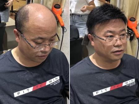 广州假发,男士假发,广州假发定制