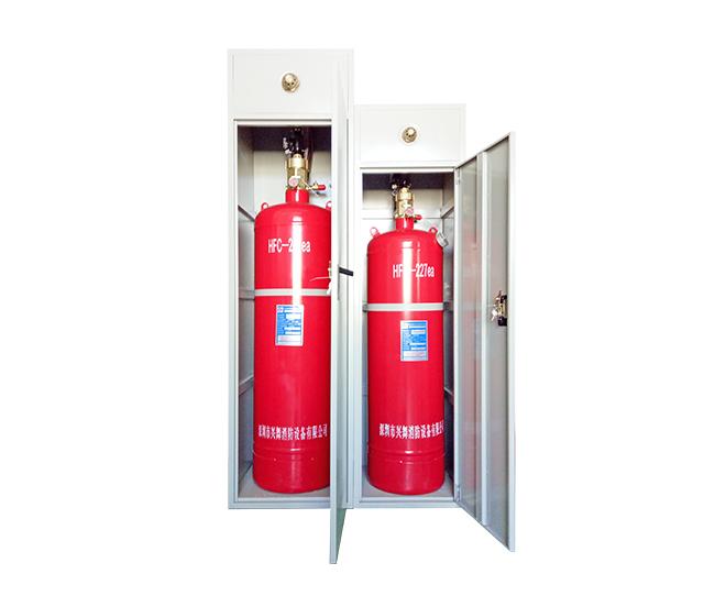 外贮压式七氟丙烷气体灭火