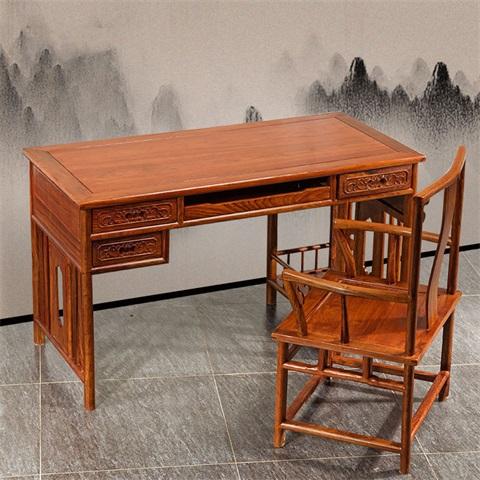 紅木家具寫字桌-口碑好的檀明宮紅木家具批銷