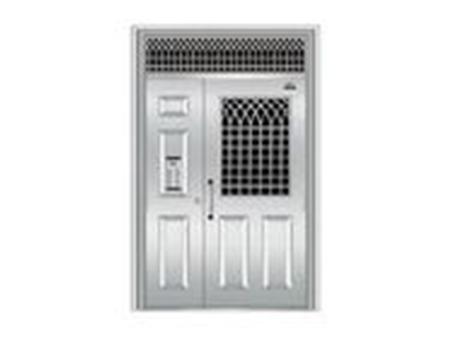 沈陽不銹鋼單元門廠家,不銹鋼單元門就選選森榮泰防火門窗
