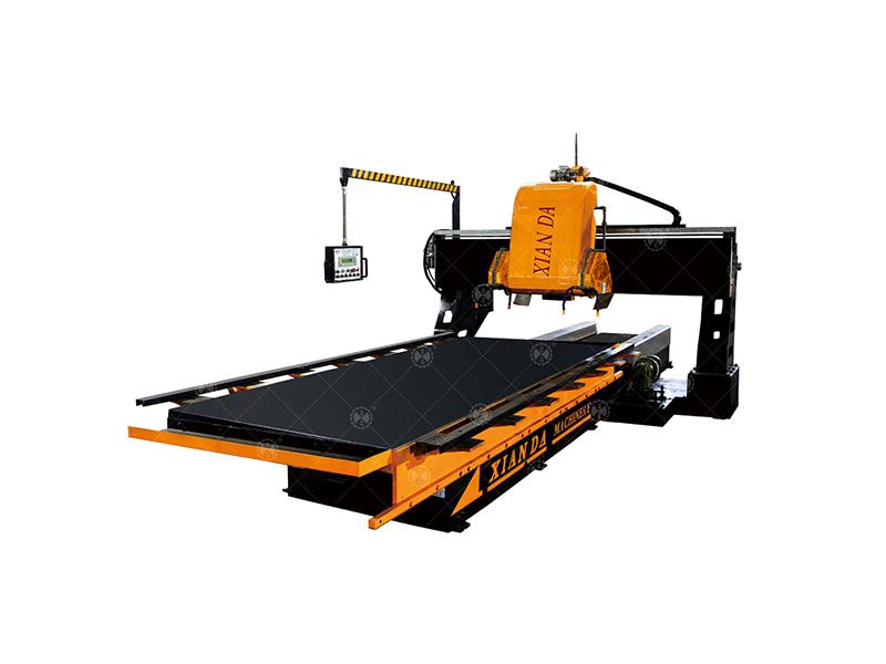 先達機器-龍門自動仿型線條切石機
