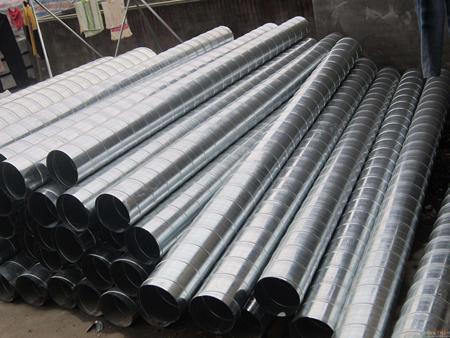 北京通风管道|规模大的螺旋风管生产厂