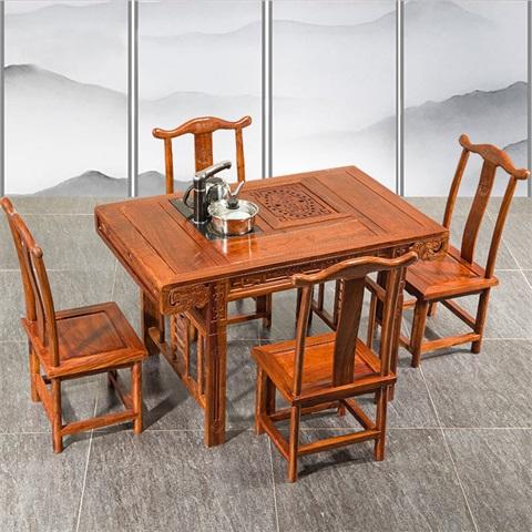 古典高端红木家具_广东品牌檀明宫红木家具出售