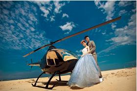 直升飞机婚礼包机