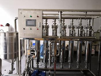 鹿茸酒膜过滤澄清设备,膜过滤澄清分离设备,膜分离膜过滤