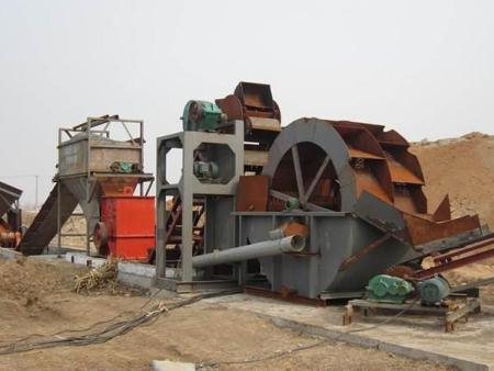 轮式洗砂机设备已经成为性价比高的洗沙用设备