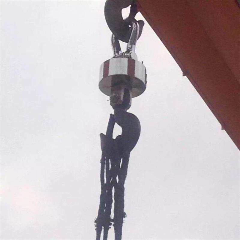 百吨地磅-博海电子衡器-可信赖的5-50吨无线电子吊磅供应商