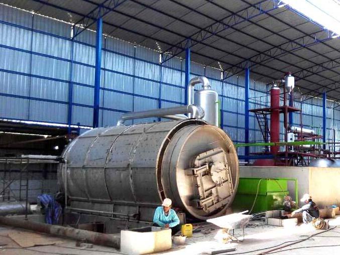 廢塑料煉油設備廠-位于商丘具有口碑的各種廢塑料煉油設備生產廠家