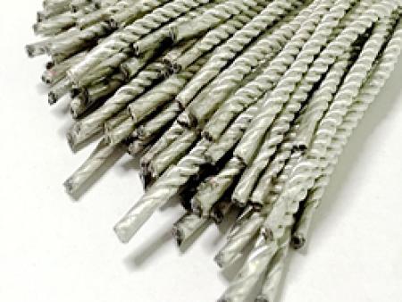 银色手提绳-东莞价格合理的银色有光丝扭绳供应