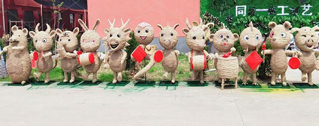 草雕生产|江苏哪里有供应品质保证的草雕