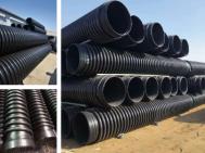 大连HDPE双平壁钢塑复合缠绕排水管厂家-选择天薇就够了