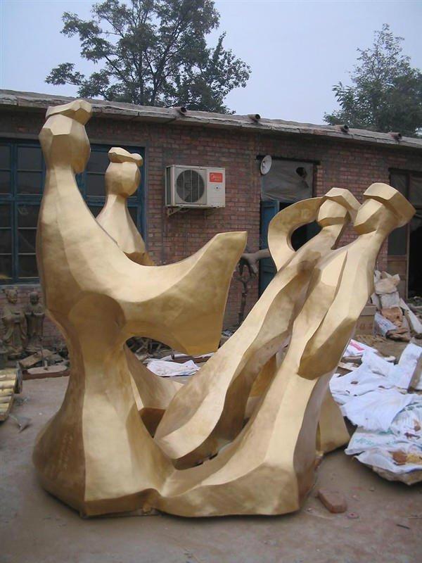 銅雕古代人物雕塑   公園藝術造型擺件