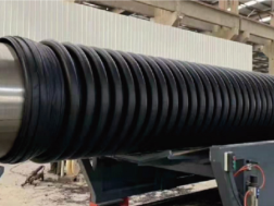 双平壁钢塑复合缠绕排水管厂家直销_大连优良HDPE双平壁钢塑复合缠绕排水管销售