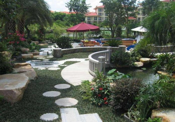 许昌楼顶花园设计公司电话,品种好的园林景观上哪买