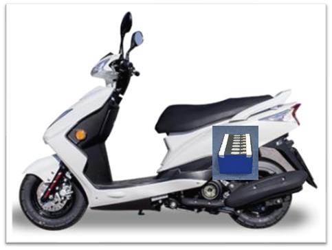 电动摩托车可定制的长续航宁静防爆固态锂电池