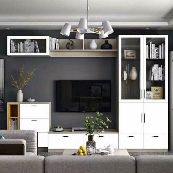 惠州电视柜报价-有品质的电视柜定制就在哈蜜家全铝家居