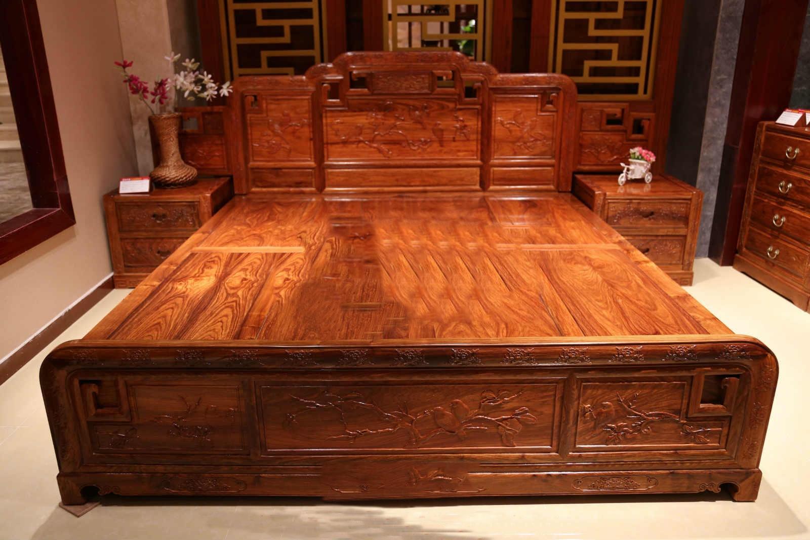 貴妃床廠家批發-價格合理的傳天匠鴻紳紅木家具供銷