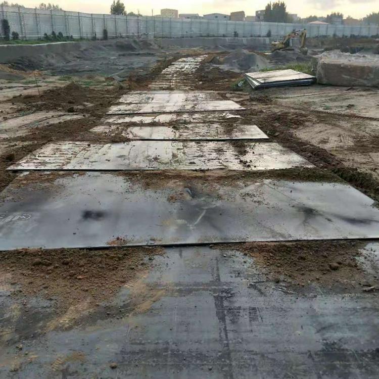 铁板出租公司-有口碑的防滑钢板租赁就在恒筑钢板