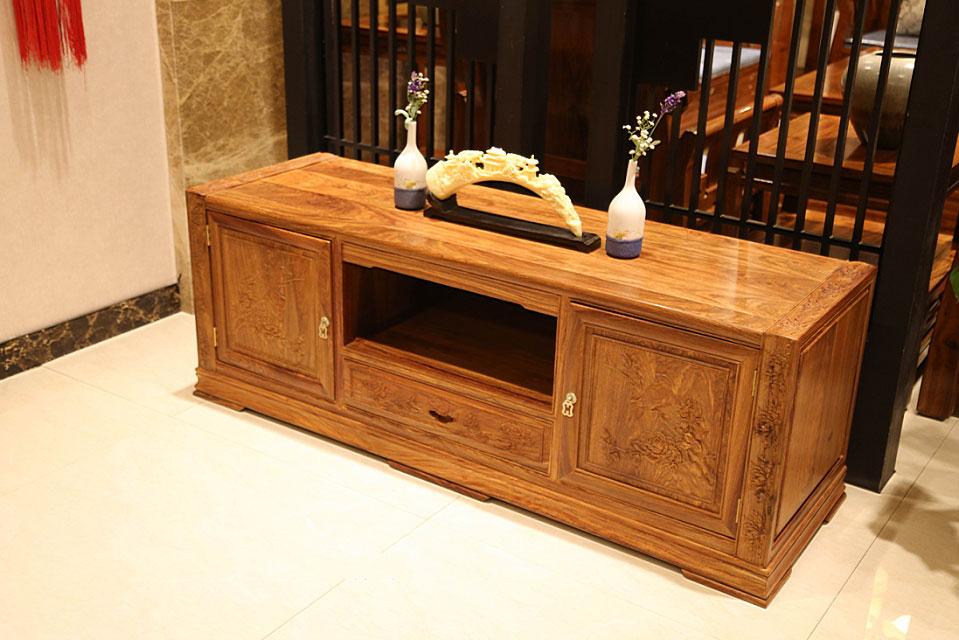 紅木電視柜尺寸-在哪能買到實惠的傳天匠至善紅木家具