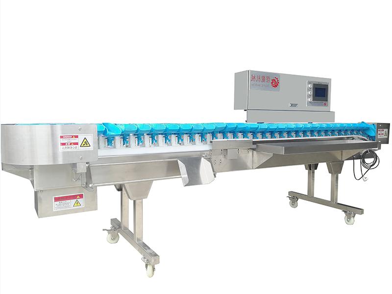 福建料盒式重量分級秤-買新款重量選別機,就選煜龍機械