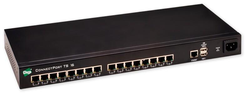 串口服務器 ConnectPort TS 16    ~